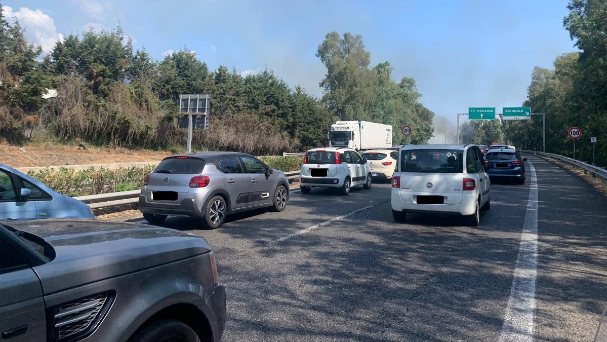 traffico A18 e autostrada catania-siracusa