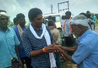 युवा नेता डाॅ़ विक्रांत भूरिया ने भी ग्रामीण क्षेत्रों में जाकर किया गहन जनसम्पर्क