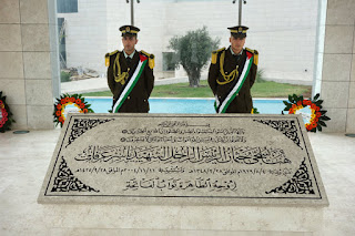 Arafat's tomb in Ramallah