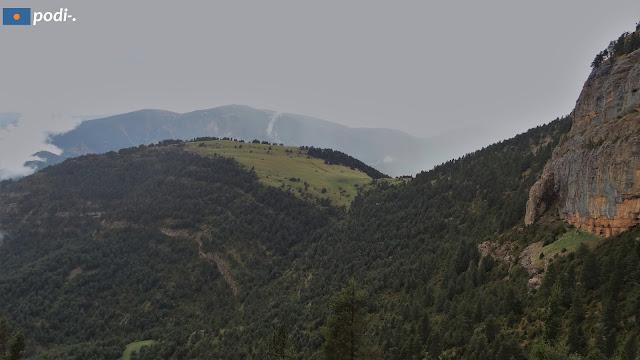 Vista des de la Bauma de l'Orellana
