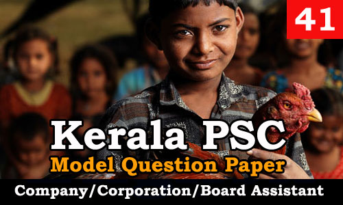 Model Question Paper Company Corporation Board Assistant - 41
