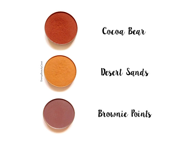Makeup Geek Cocoa Bear Desert Sands Brownie Points