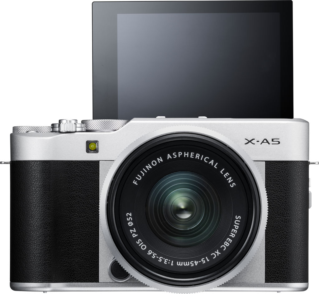 Fujifilm X-A5 с откидным экраном