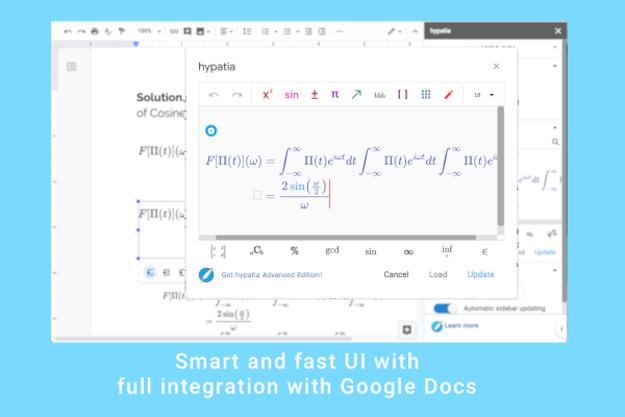 Μαθηματικά add-ons για το Google Doc