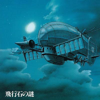 blue castle in the sky vinyl cover
