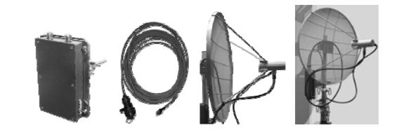 Склад та зовнішній вигляд радіорелейної широкосмугової станції Р-402