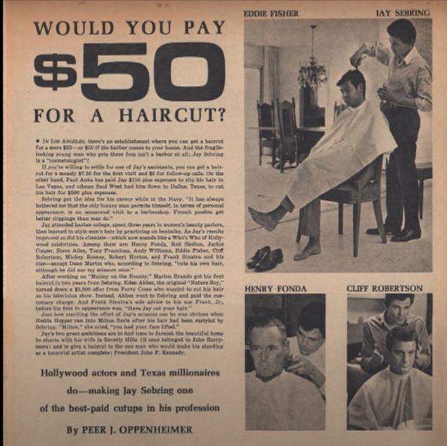 Jay sebring cabeleireiro