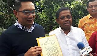 Idrus Marham: SK DPP PG Untuk Ridwan Kamil Sudah Final
