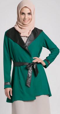 Contoh model baju kerja muslim trendy
