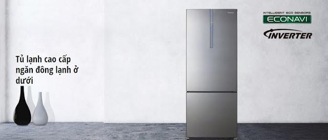 Tủ lạnh Panasonic Inverter 363 lít NR-BX418XSVN