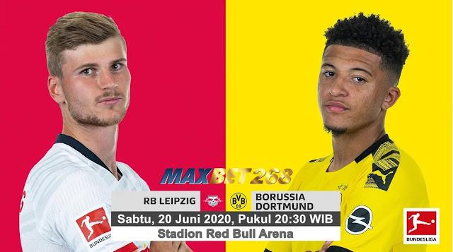 Prediksi RB Leipzig Vs Borussia Dortmund, Sabtu 20 Juni 2020 Pukul 20.30 WIB @ Mola TV