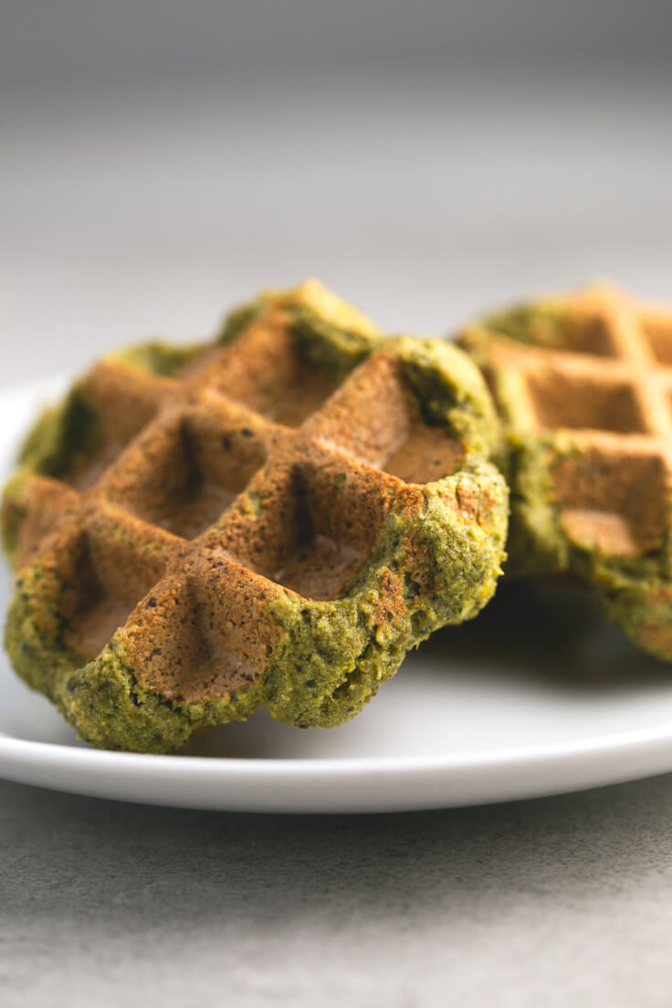Falafel waffles: Before, we made fried or baked falafel, but now you make falafel waffles in our day to day because it does not contain oil, and it is made faster.