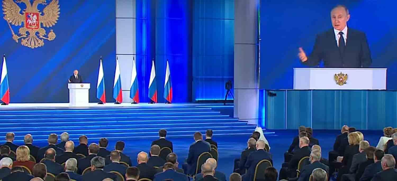 Послание Путина Федеральному собранию 2021