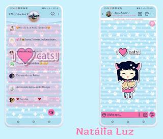 Anime Girls & Cat Theme For YOWhatsApp & Fouad WhatsApp By Natalia Luz