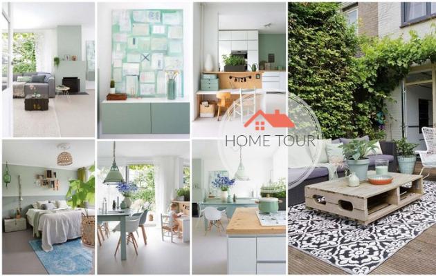 ΞΕΧΩΡΙΣΤΑ ΣΠΙΤΙΑ: Ένα υπέροχο ...πράσινο σπίτι