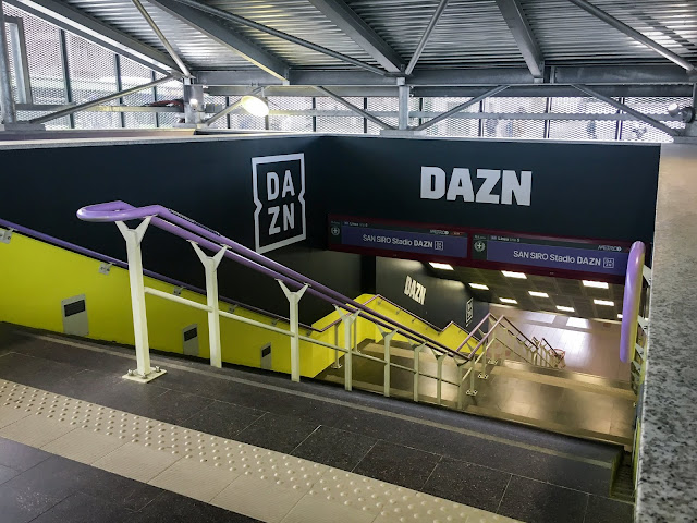 The Big Now Takes Over One of Italy s Oldest Stadiums for DAZN Campaign