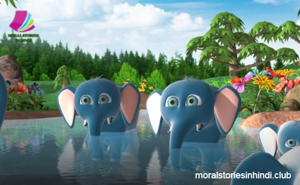 Moral Stories In Hindi For Class 5 | Khargosh Aur Hathi Ki Kahani