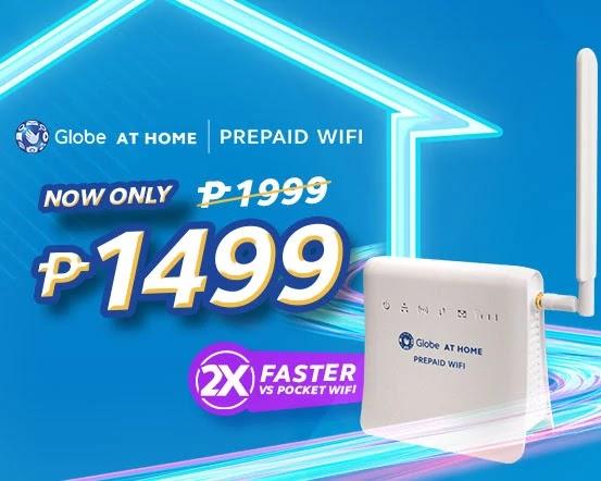 Globe At Home Prepaid WiFi Price Drop