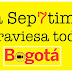 La Sep7tima atraviesa toda Bogotá.