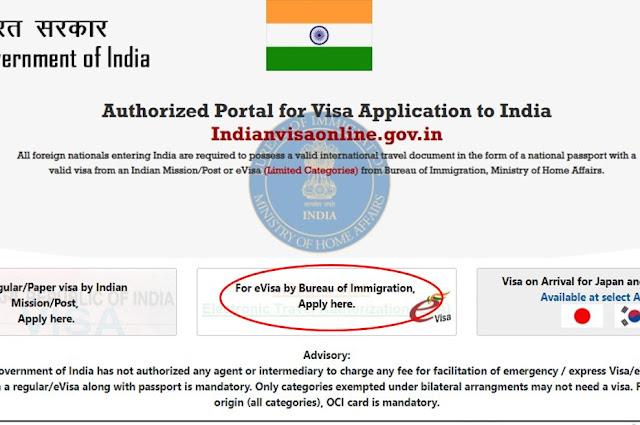 Visa Online India Situs Resmi