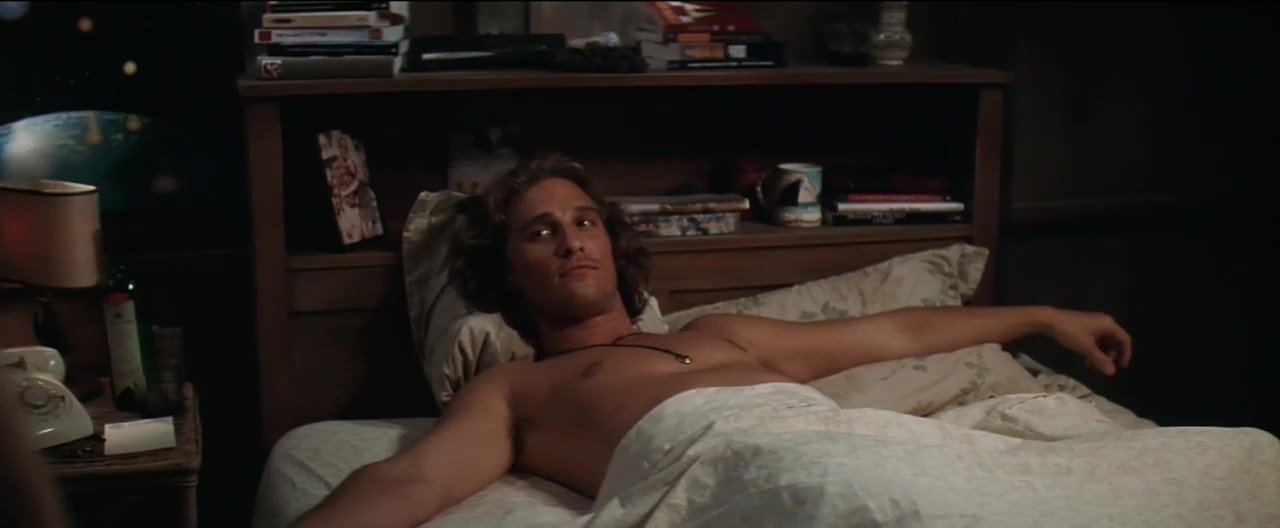 How a drunken golf argument got matthew mcconaughey into dazed and confused