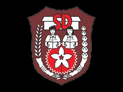 Logo SD (Sekolah Dasar) Format PNG - zotutorial.com