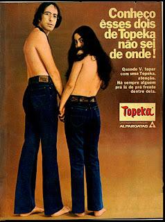propaganda topeka de 1970; 1970; moda anos 70; propaganda anos 70; história da década de 70; reclames anos 70; brazil in the 70s; Oswaldo Hernandez
