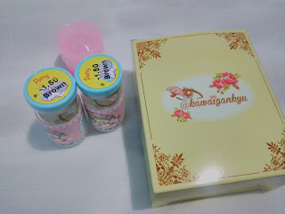 Review Kawaigankyu Softlens Sweety Lens - Sweety Pony Brown