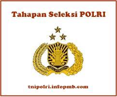 Tahapan Seleksi Tingkat Daerah dan Pusat Tahapan Seleksi Anggota POLRI 2019-2020