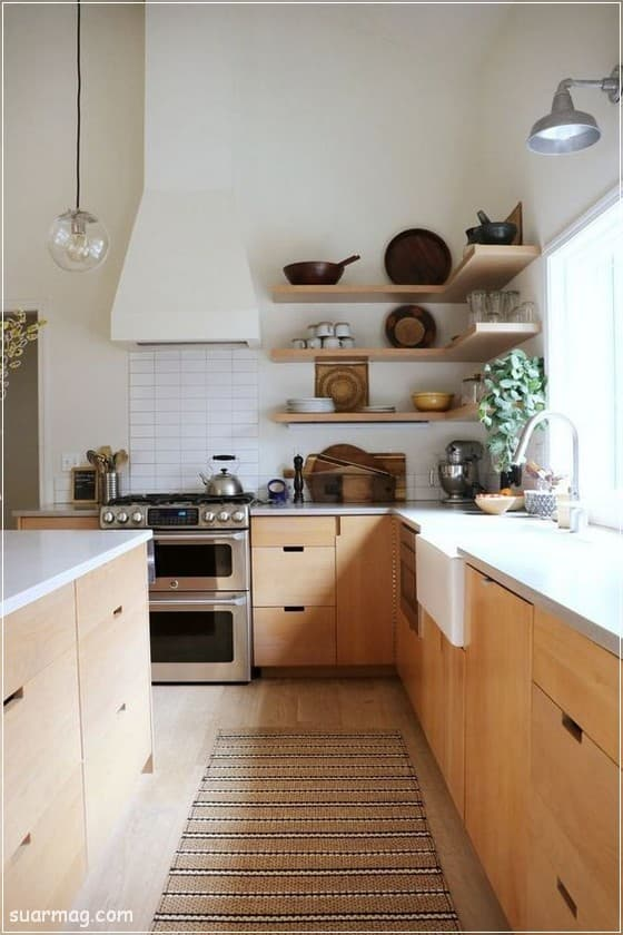 صور مطابخ - مطابخ خشب 7   Kitchen photos - Wood kitchens 7