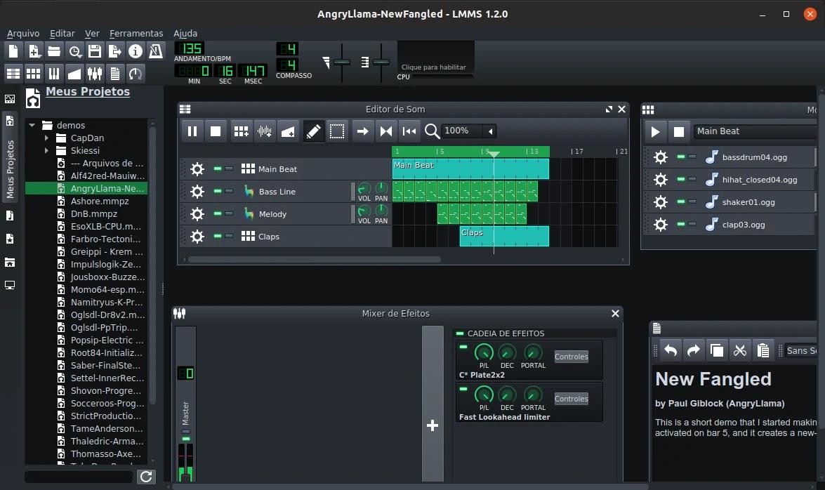 Conheça o novo Linux Multimedia Studio - Diolinux - O modo