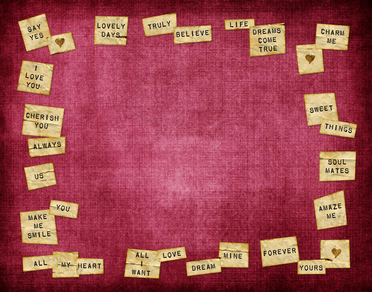 The Real Secret: Words of Love