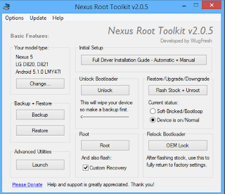 Download Nexus Root Toolkit v2.0,5