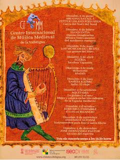 concert Menestrils Centre Internacional de Música Medieval de la Valldigna