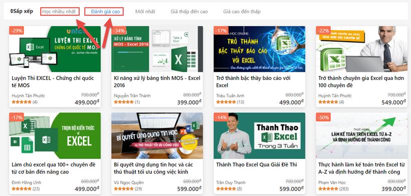 Chia sẻ mã giảm giá Unica 60% web học online