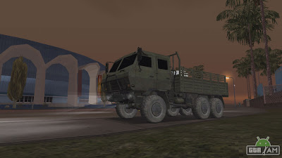 [REL] DongFeng SX Military Truck For GTA SA Android download from gtaam by vindicator285
