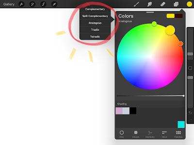 color harmony procreate 5