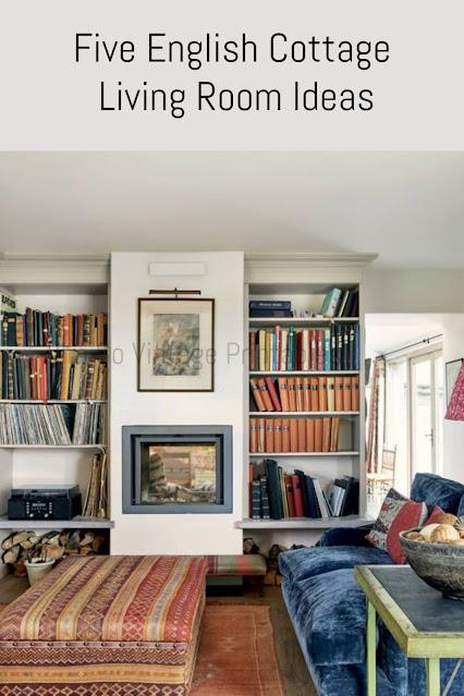 Five English Cottage Living Room Ideas