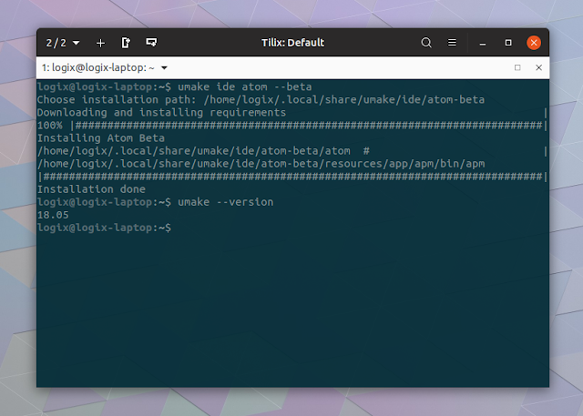 Ubuntu Make installer