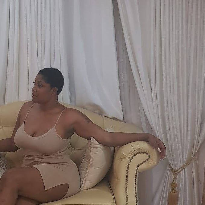 WOW! See This Nollywood Actress, Angela Okorie Flaunts Her Laps