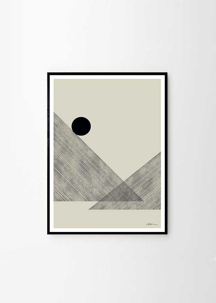 Studio Paradissi x The Poster Club. Altitude Art Print