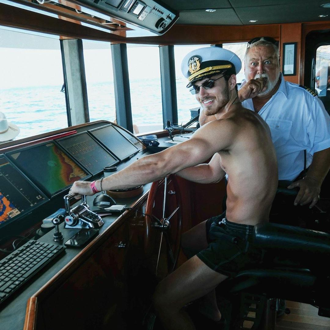sexy-driving-ship-captain-shirtless-body-male-hunk