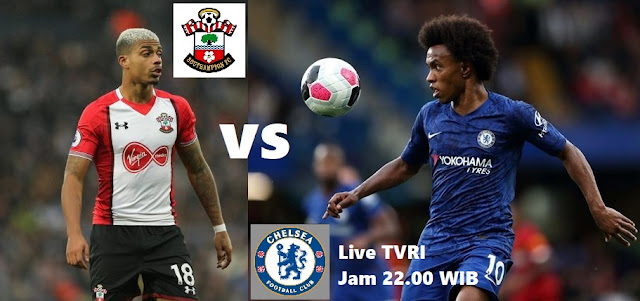 Jadwal Liga Inggris Pekan 19 Boxing Day : Chelsea vs Southampton Live TVRI