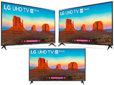 65-Inch Smart LG TV - High Dynamic Range 4K UltraHD Television - Electronics