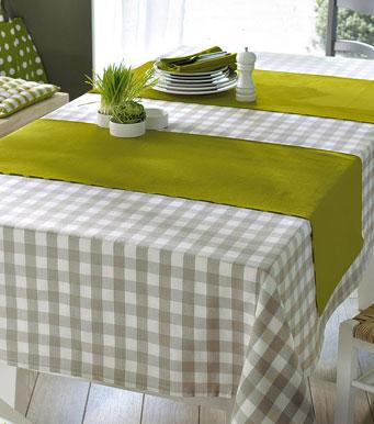 Manteles y caminos besosdechocolateyfresa for Como hacer caminos de mesa modernos