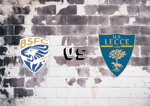 Brescia vs Lecce  Resumen