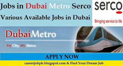 Dubai Metro jobs 2016