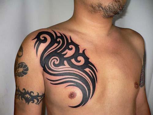 erkek tribal dövmeler man tribal tattoos 10