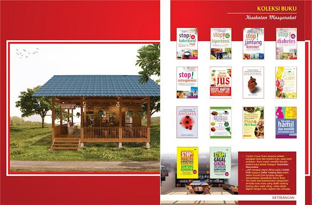 Buku Kesehatan Masyarakat Untuk Perpustakaan Desa