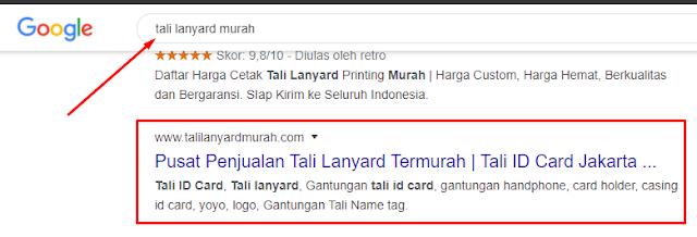 Daftar Website Halaman satu Google klien Mahir SEO Terbaru